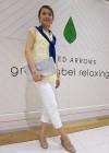 イエローシャツ+白パンツのきれいめな夏コーデ